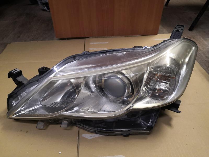 Фара Toyota Mark X GRX130 передняя левая (б/у)