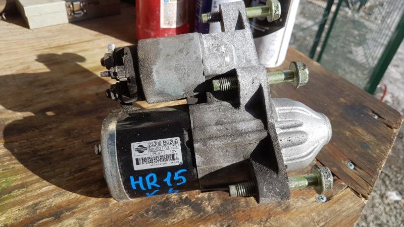 Стартер Nissan Juke F15 HR15 (б/у)