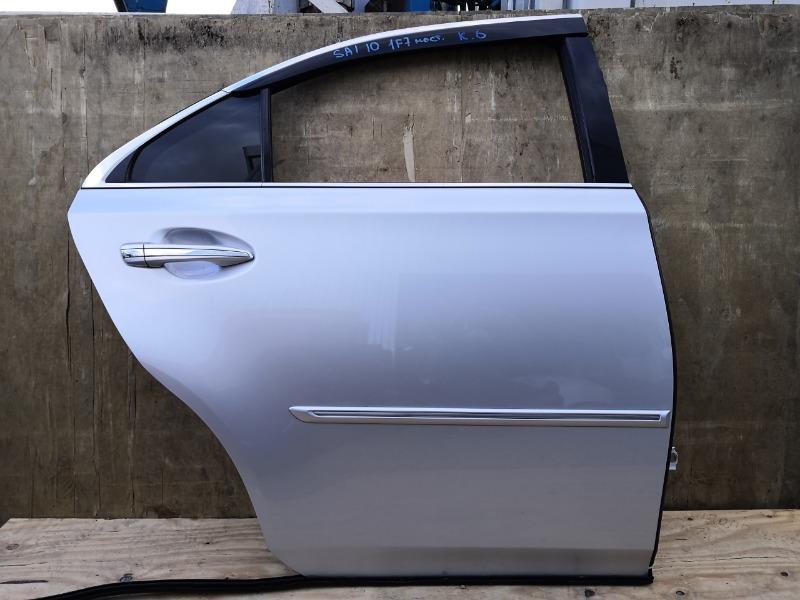 Дверь Toyota Sai AZK10 задняя правая (б/у)