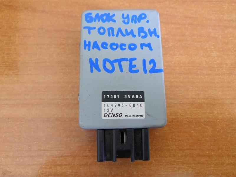 Блок управления топливным насосом Nissan Note E12 HR12 (б/у)
