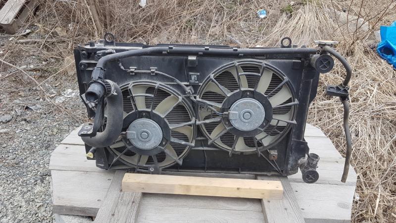 Радиатор основной Toyota Wish ZGE20 2ZR (б/у)