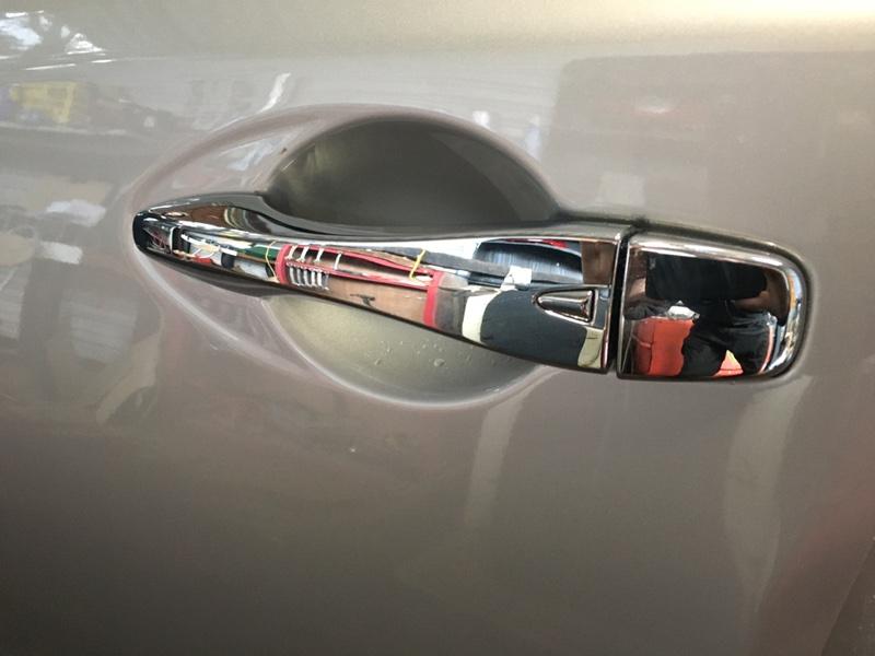 Ручка двери внешняя Nissan Teana L33 QR25DE 2017 передняя левая (б/у)