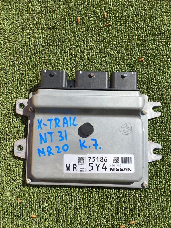Блок efi Nissan X-Trail NT31 MR20 (б/у)
