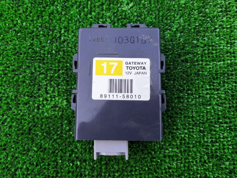 Электронный блок Toyota Alphard ANH10 2AZ (б/у)