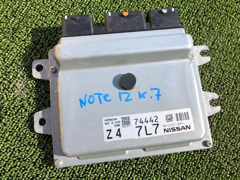 Блок управления efi Nissan Note E12 HR12 (б/у)