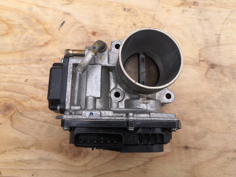 Блок дроссельной заслонки Honda Fit GP5 LEB (б/у)