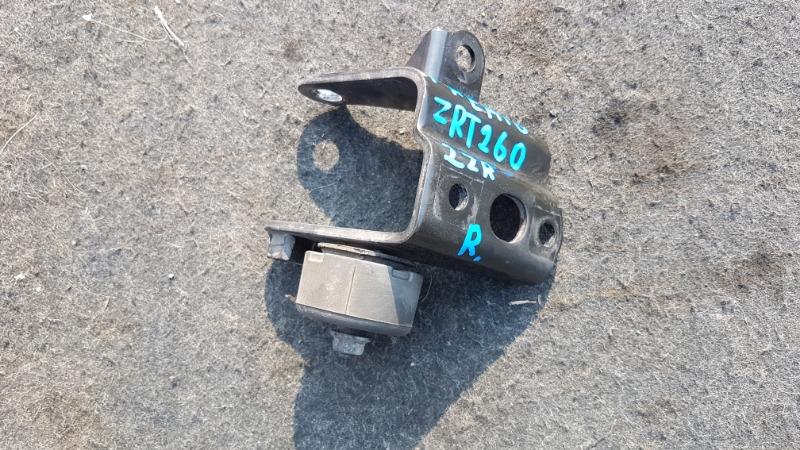 Крепление подушки двс Toyota Premio NZT260 2ZR 2011 заднее (б/у)