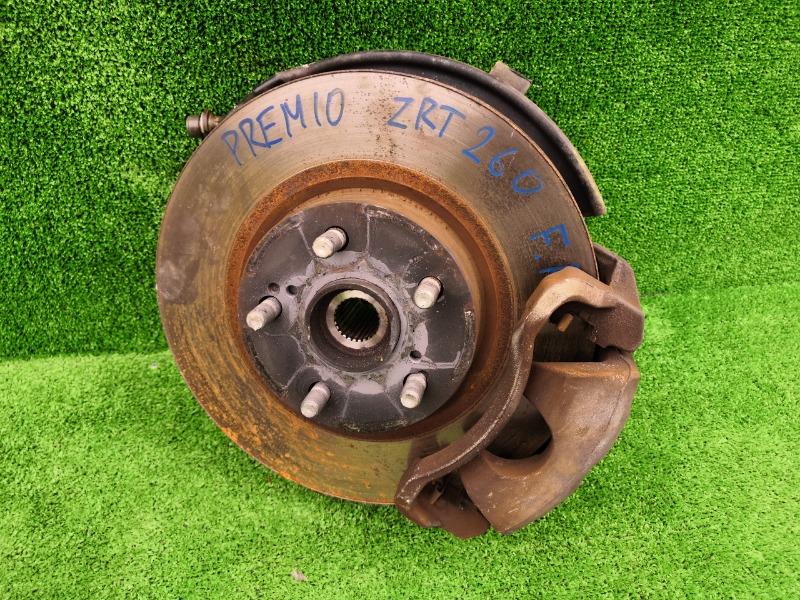 Суппорт тормозной Toyota Premio NZT260 1NZ передний правый (б/у)