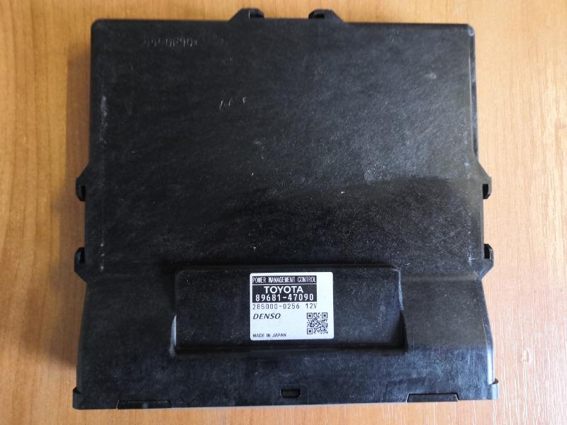 Блок упр. зарядкой аккумулятора Toyota Prius ZVW30 2ZR (б/у)