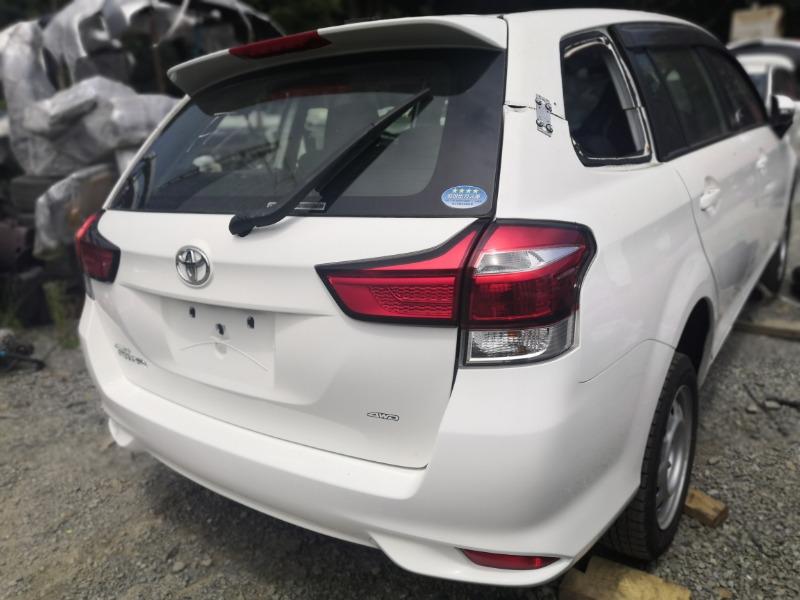 Rear cut Toyota Corolla Fielder NZE164 2016 (б/у)