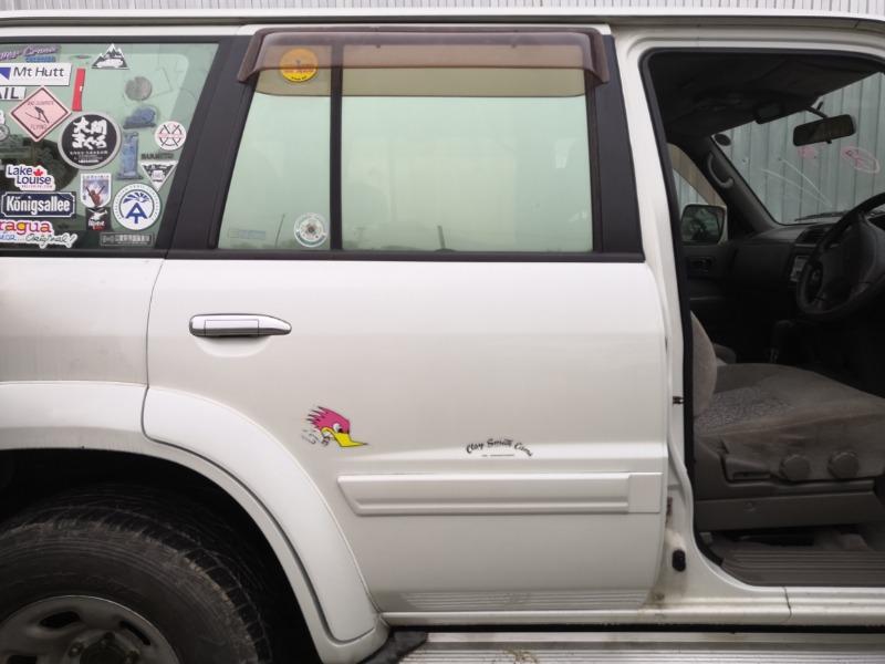 Дверь Nissan Safari Y61 TB45E 1997 задняя правая (б/у)