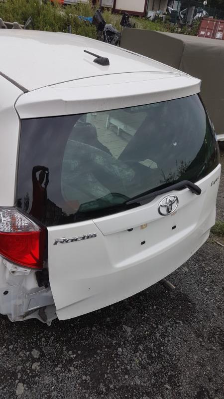Дверь 5-я Toyota Ractis NCP120 1NZFE 2011 (б/у)
