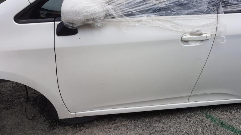 Дверь Toyota Ractis NCP120 1NZ 2011 передняя левая (б/у)