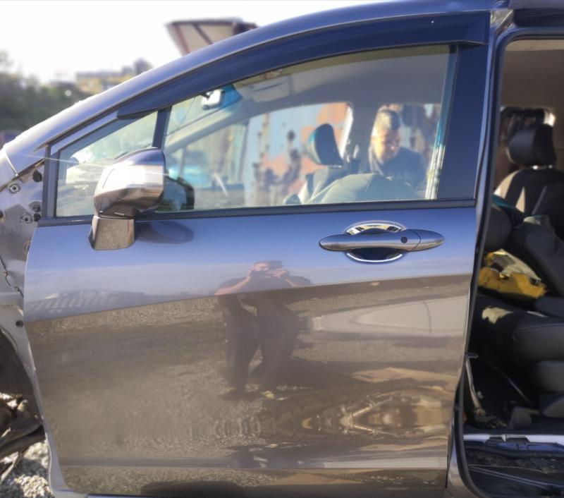 Дверь Honda Freed GP3 2015 передняя левая (б/у)