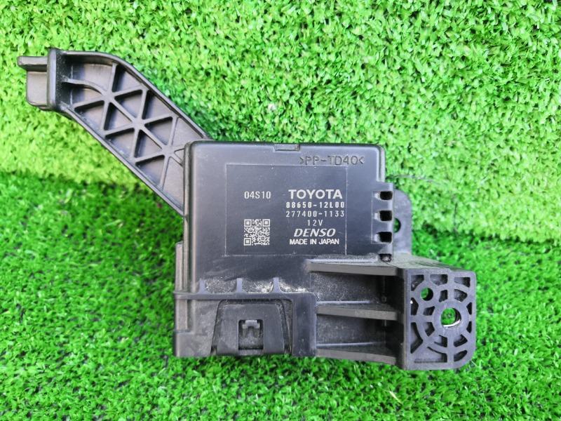 Блок управления климат-контролем Toyota Corolla Axio NZE161 (б/у)