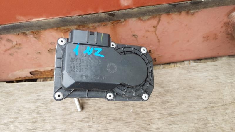 Блок дроссельной заслонки Toyota Ractis NCP120 1NZ 2011 (б/у)