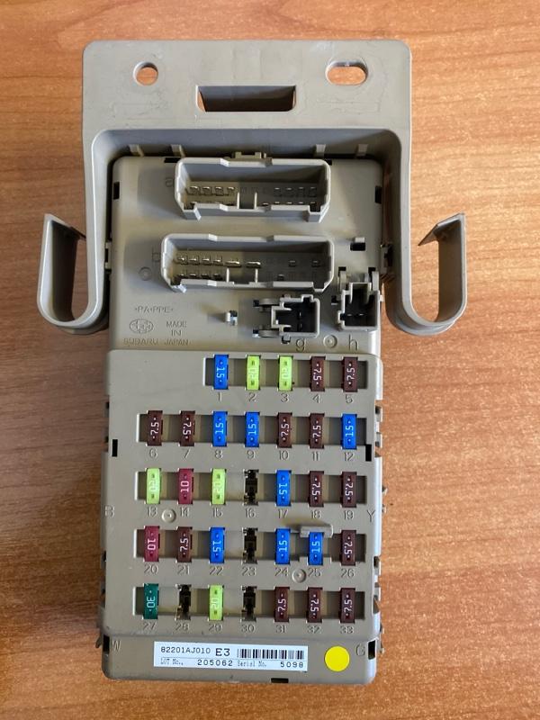 Блок предохранителей Subaru Legacy BR9 FB25 2011 (б/у)