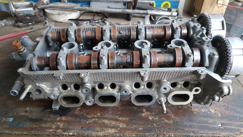 Головка блока цилиндров Suzuki Solio MA36S K12C (б/у)