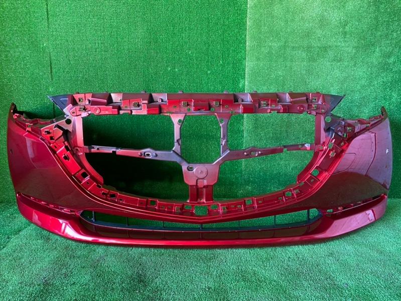 Бампер Mazda Demio DJ3AS передний (б/у)