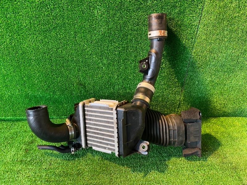 Радиатор интеркулера Suzuki Spacia MK42S R06A 2017 (б/у)