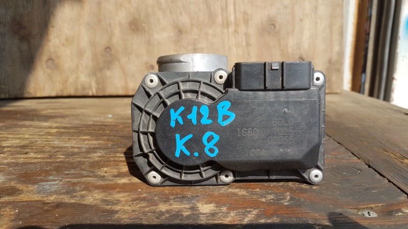 Блок дроссельной заслонки Suzuki Solio MA15S K12B (б/у)