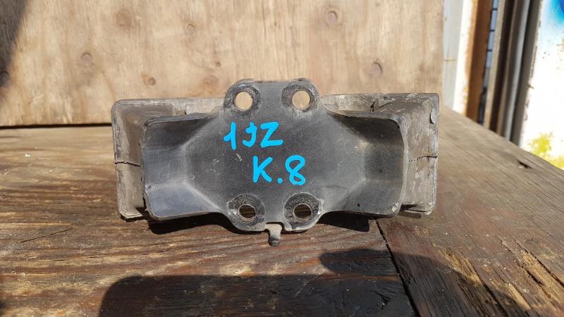 Подушка акпп Toyota Mark Ii JZX110 1JZ задняя (б/у)