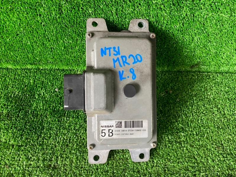 Блок переключения кпп Nissan X-Trail NT31 MR20 2011 (б/у)