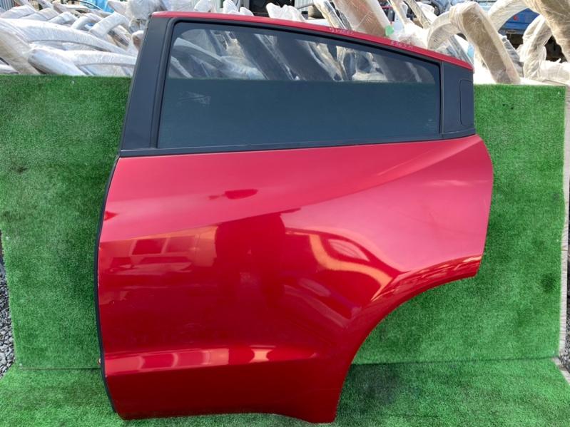 Дверь Honda Vezel RU1 задняя левая (б/у)