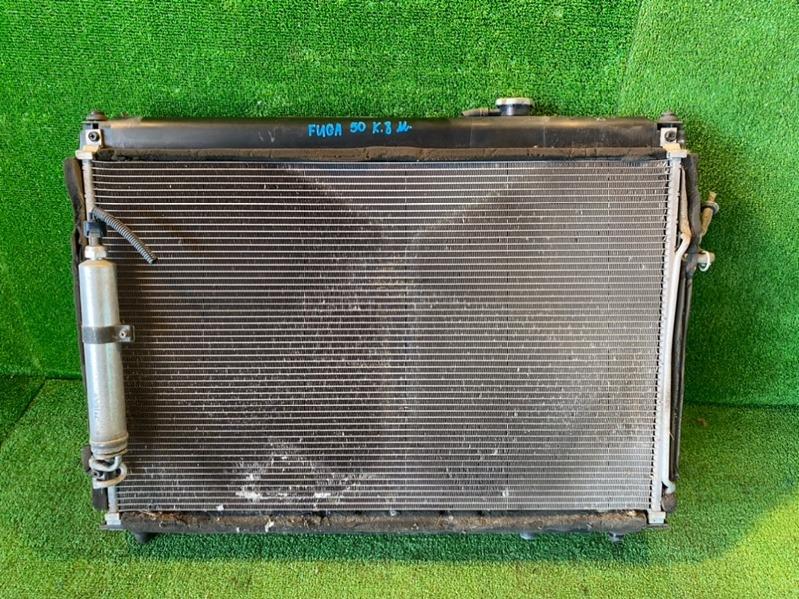 Радиатор кондиционера Nissan Fuga Y50 VQ35DE (б/у)