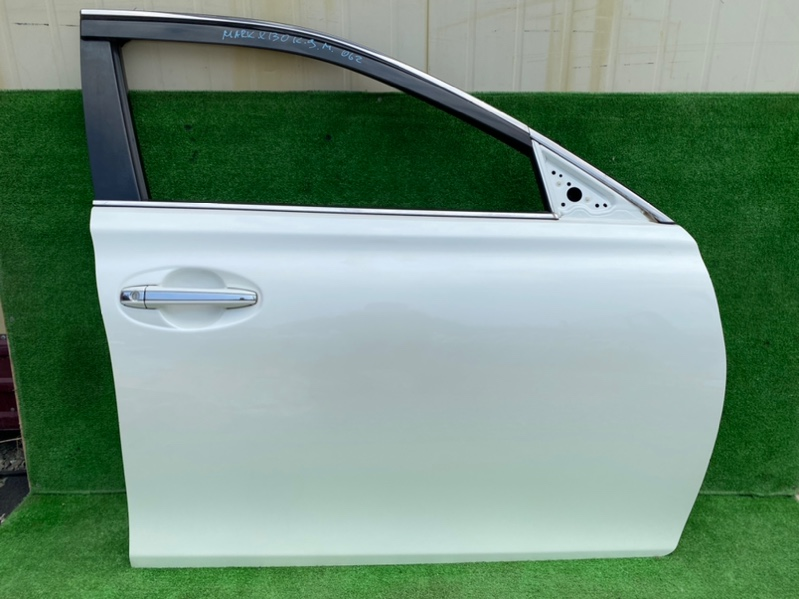 Дверь Toyota Mark X GRX130 2013 передняя правая (б/у)