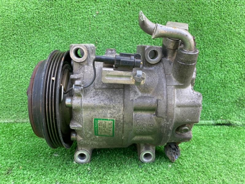 Компрессор кондиционера Nissan Cima HF50 VQ30DET (б/у)