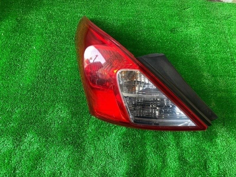 Стоп Nissan Latio N17 задний левый (б/у)