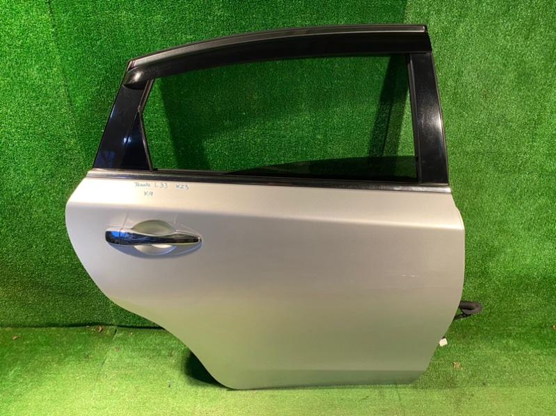 Дверь Nissan Teana L33 задняя правая (б/у)