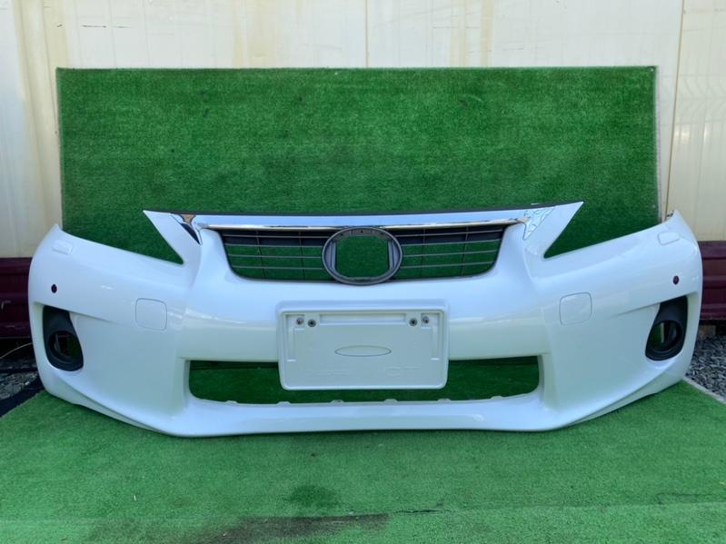 Бампер Lexus Ct200H ZWA10 передний (б/у)