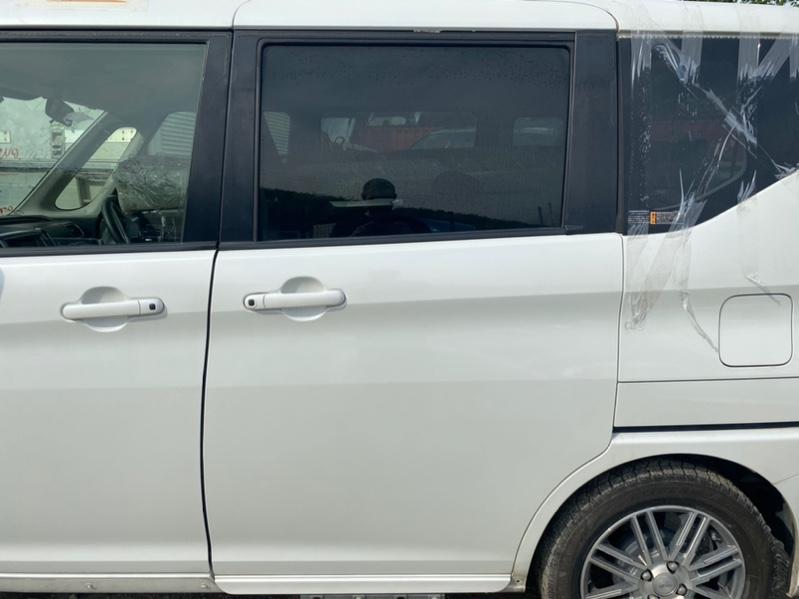Дверь Suzuki Solio MA36S K12C 2016 задняя левая (б/у)