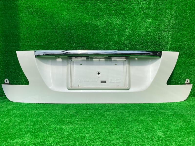 Накладка на багажник Lexus Ls USF40 (б/у)