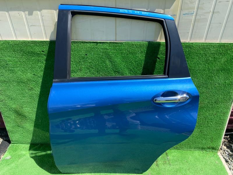 Дверь Nissan Note E12 задняя левая (б/у)