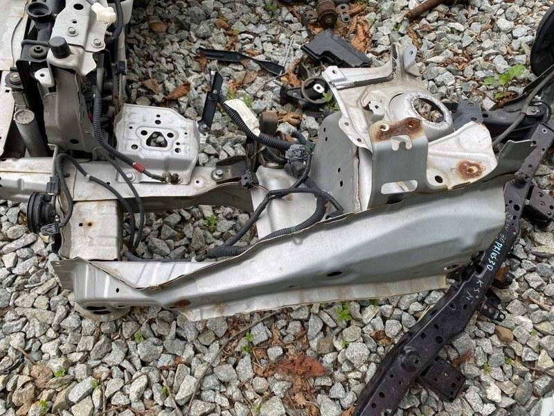 Лонжерон Honda Fit GE6 2010 передний левый (б/у)