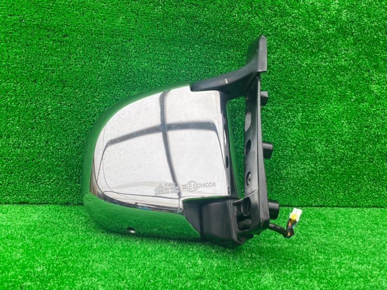 Зеркало Mitsubishi Delica PA4W переднее правое (б/у)