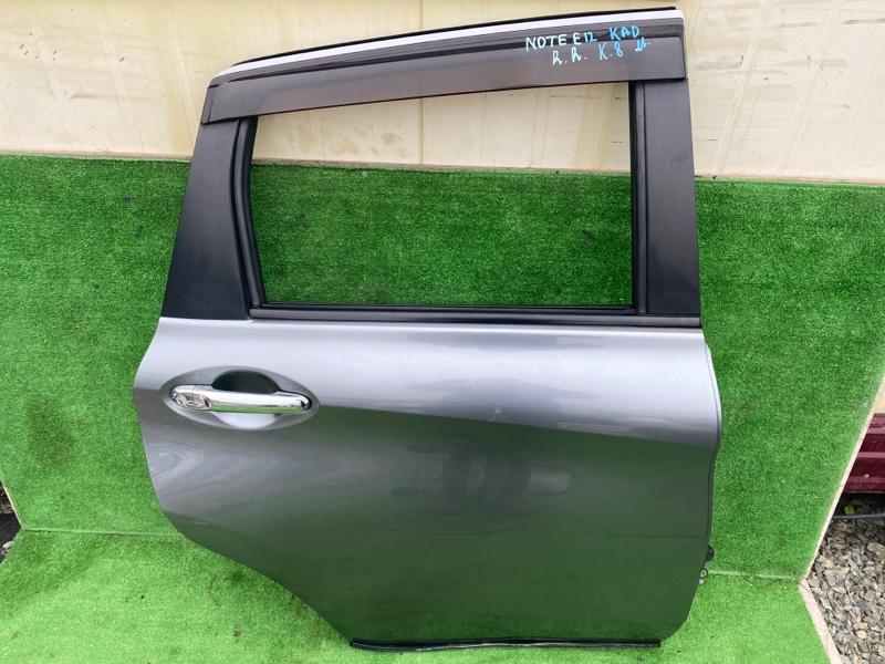 Дверь Nissan Note E12 2015 задняя правая (б/у)