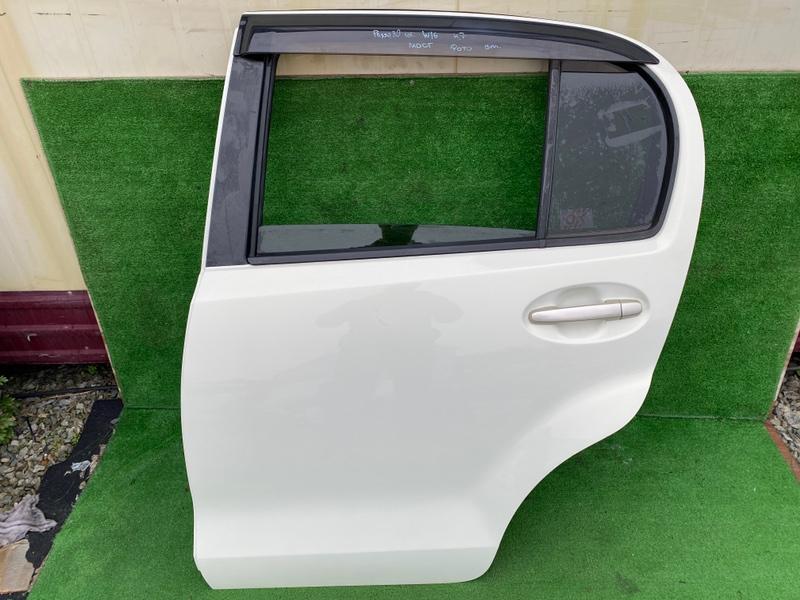 Дверь Toyota Passo KGC30 задняя левая (б/у)
