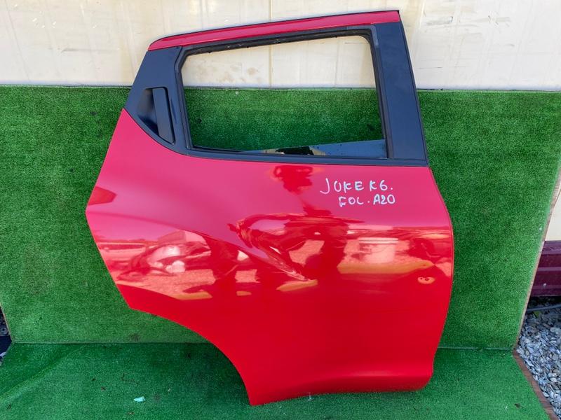 Дверь Nissan Juke NF15 задняя правая (б/у)