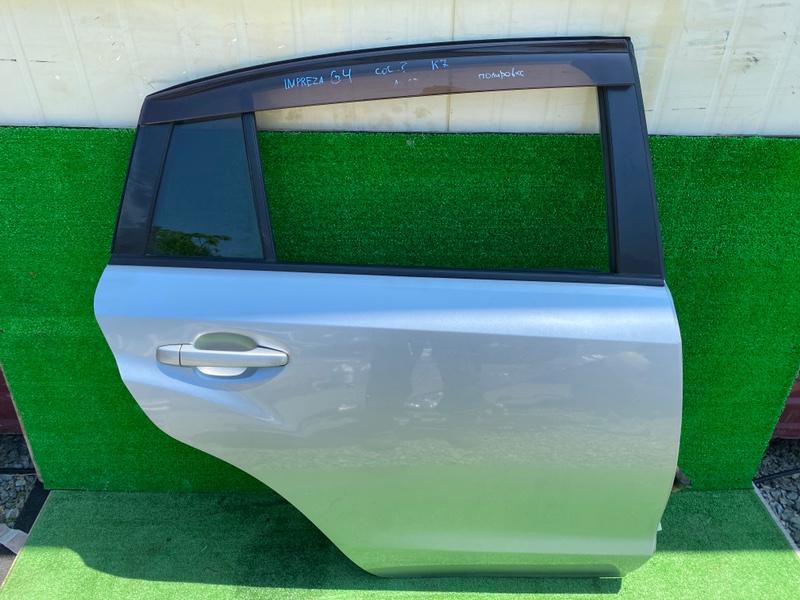 Дверь Subaru Impreza G4 GJ3 задняя правая (б/у)