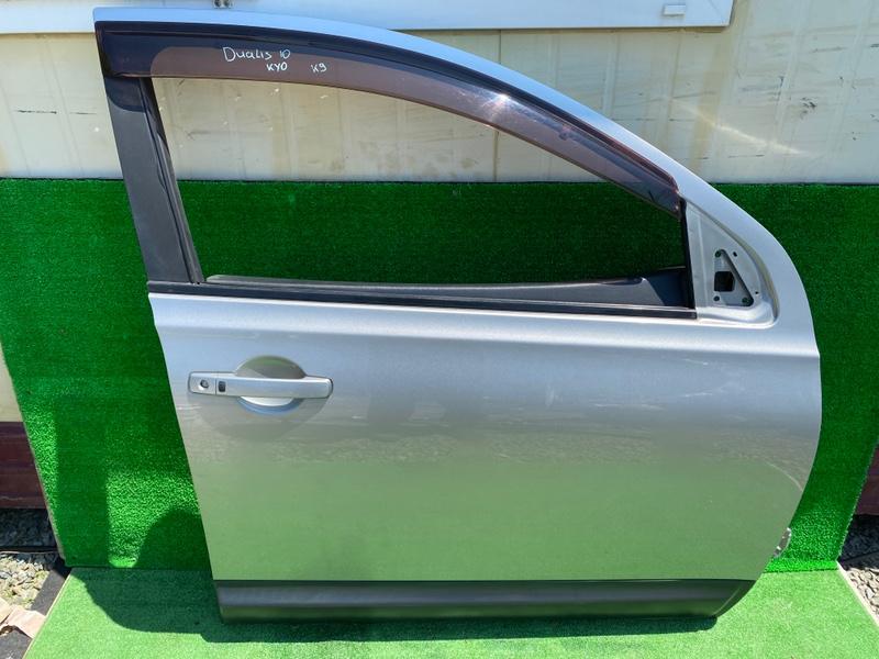 Дверь Nissan Dualis NJ10 передняя правая (б/у)