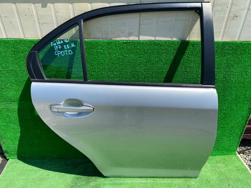 Дверь Toyota Corolla Axio NKE165 задняя правая (б/у)