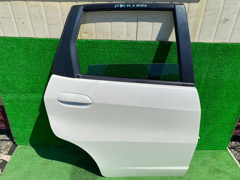 Дверь Honda Fit GE6 задняя правая (б/у)