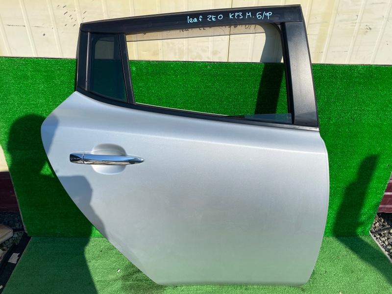 Дверь Nissan Leaf ZE0 задняя правая (б/у)
