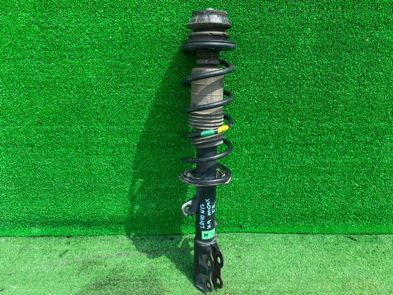 Стойка Nissan Latio N17 HR12DE передняя правая (б/у)