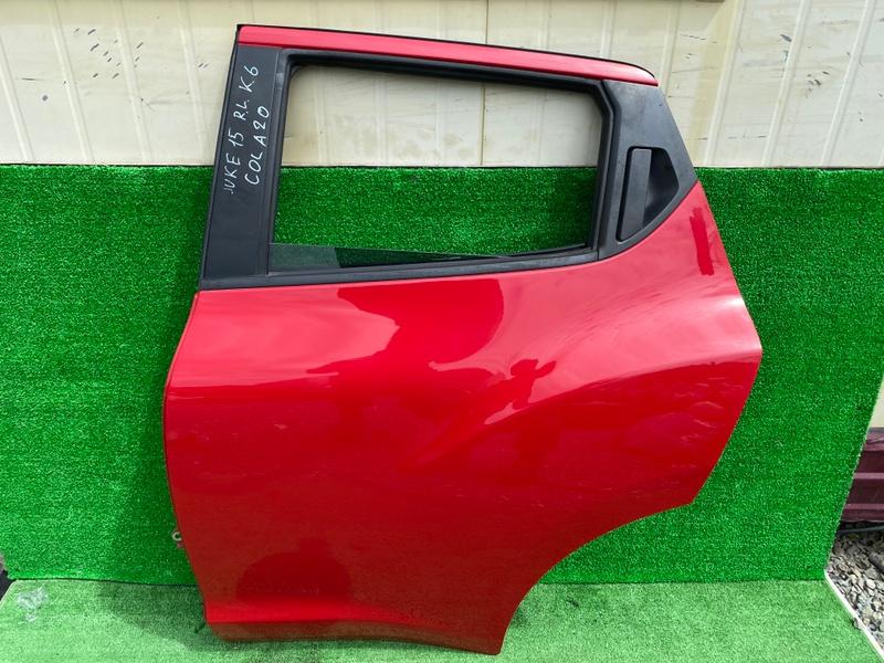 Дверь Nissan Juke F15 задняя левая (б/у)