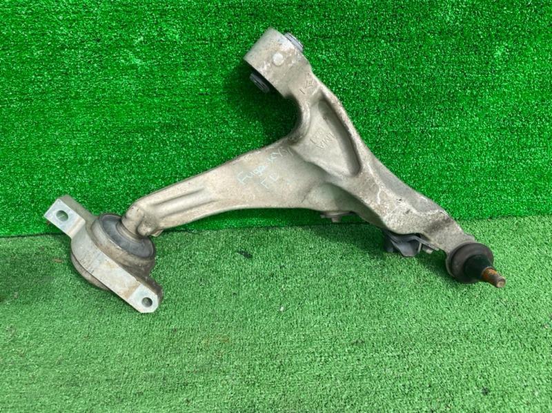 Рычаг Nissan Fuga KY51 VQ37VHR передний левый нижний (б/у)